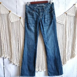 American Eagle Blue Denim Favorite Boyfriend Jeans